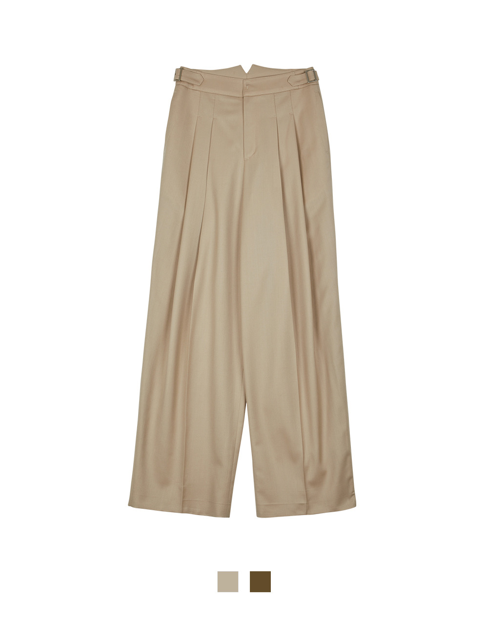 GBH APPAREL ADULT  Wool Wide Pants  (2 COLORS)