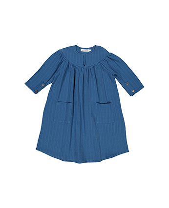 CARLOTA BARNABE  BAGGY DRESS   Nippy Blue