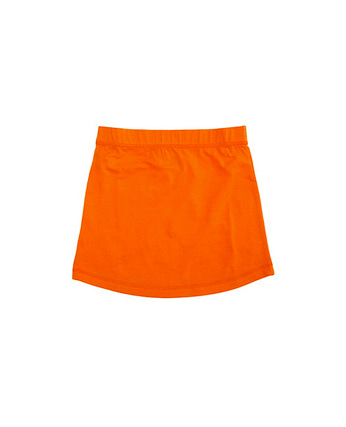 More than a fling Solid basic Skirt (orange)