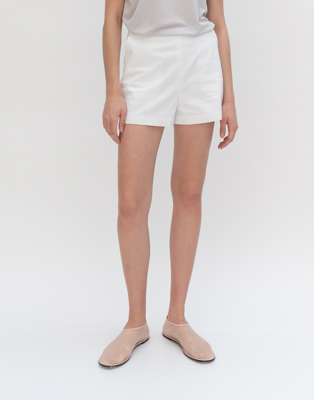 GBH APPAREL ADULT  [노필터TV] Light Summer Shorts WHITE
