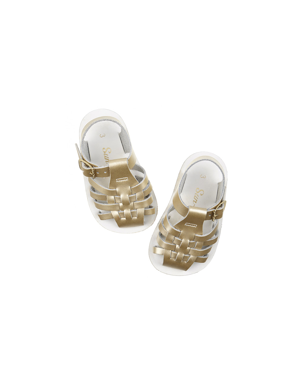 SALT-WATER SANDAL  BABY VELCRO SAILOR PREMIUM  Gold