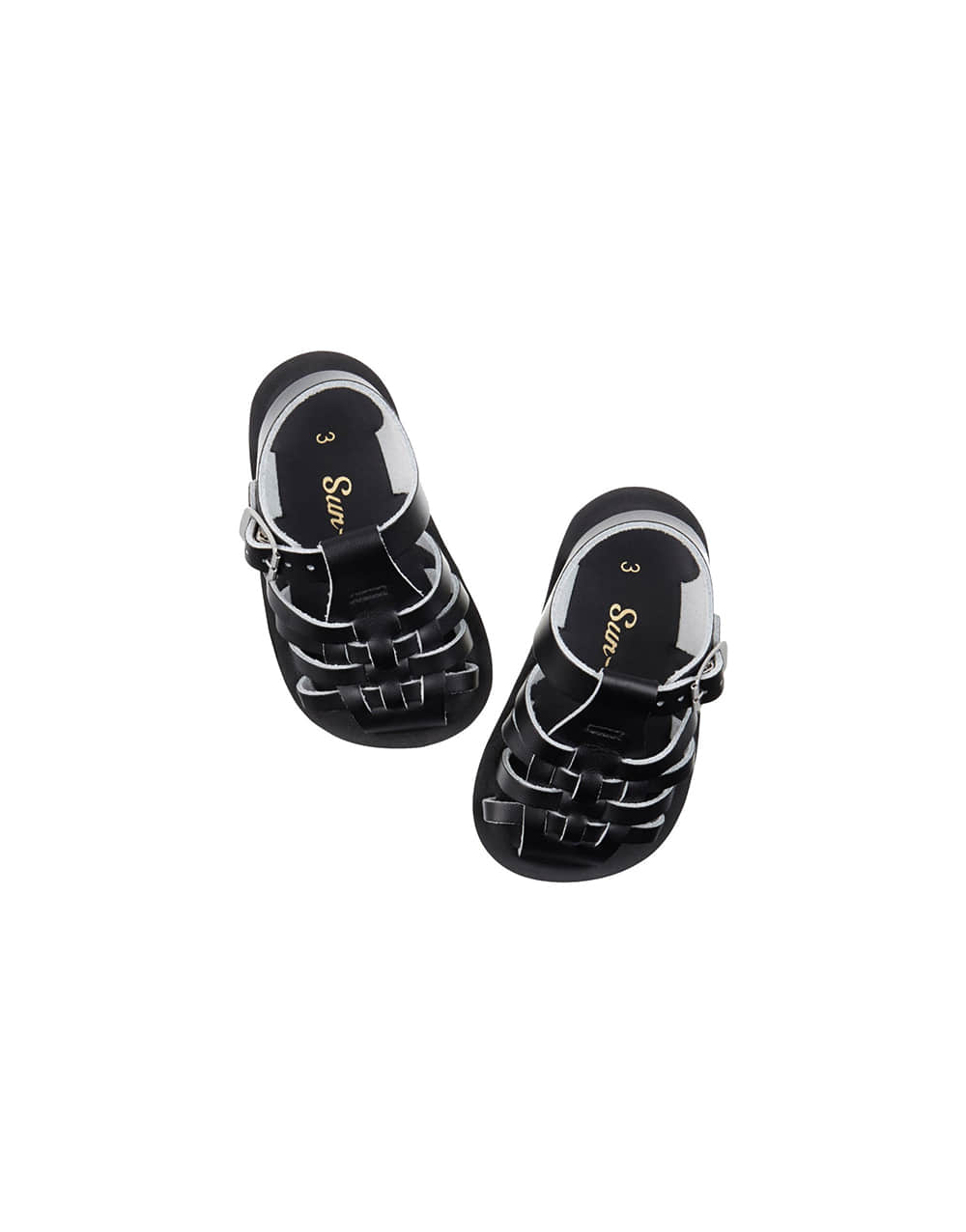 SALT-WATER SANDAL  BABY VELCRO SAILOR  Black