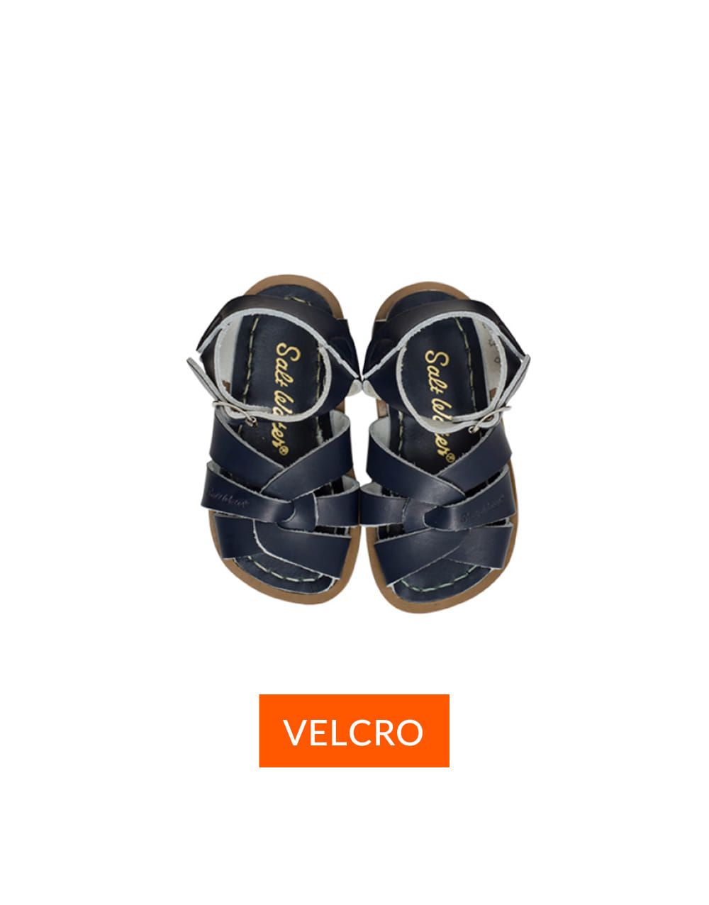 SALT-WATER SANDAL  CHILD VELCRO ORIGINAL  Navy