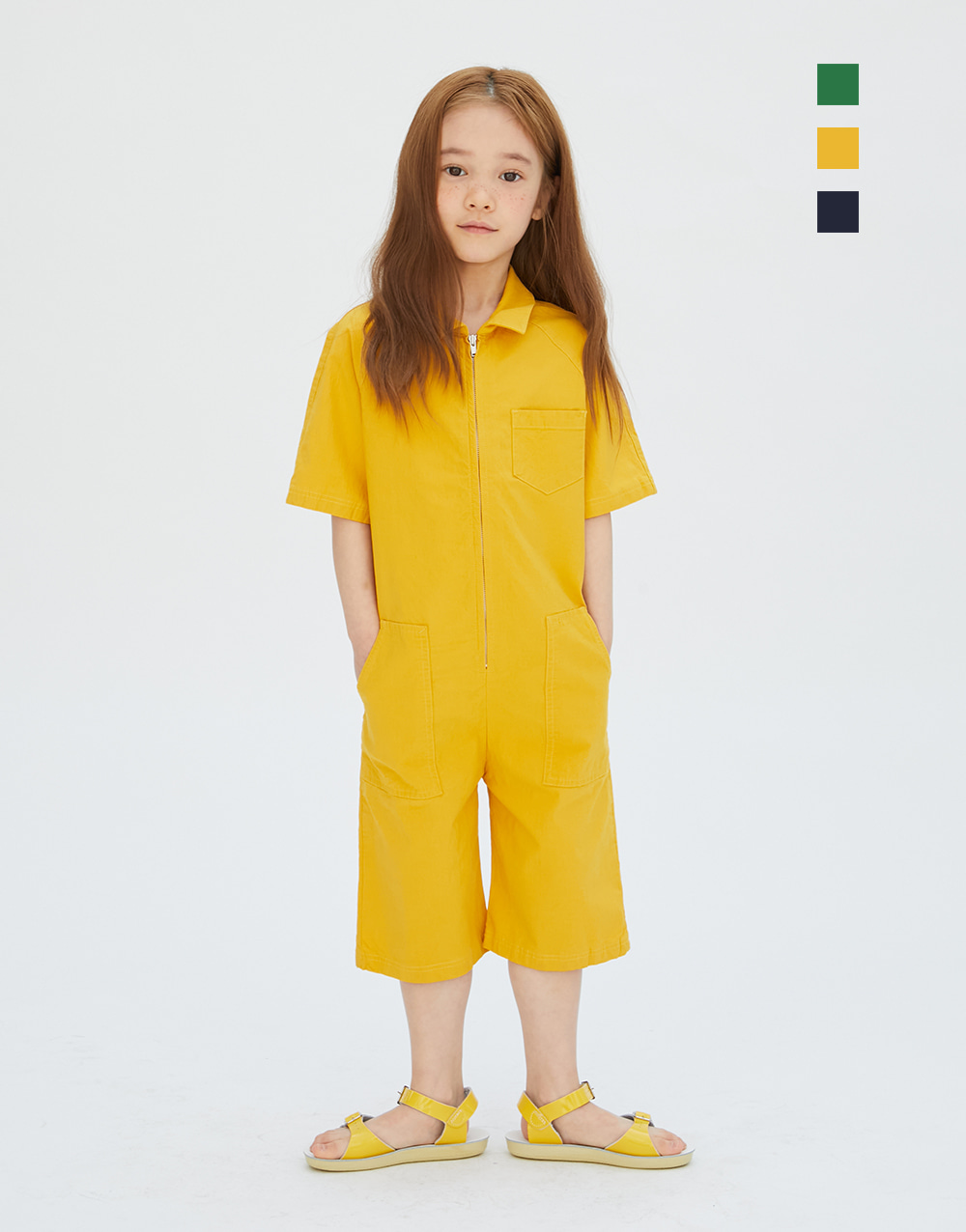 GBH APPAREL KIDS  WORK SUIT  (3 COLORS)