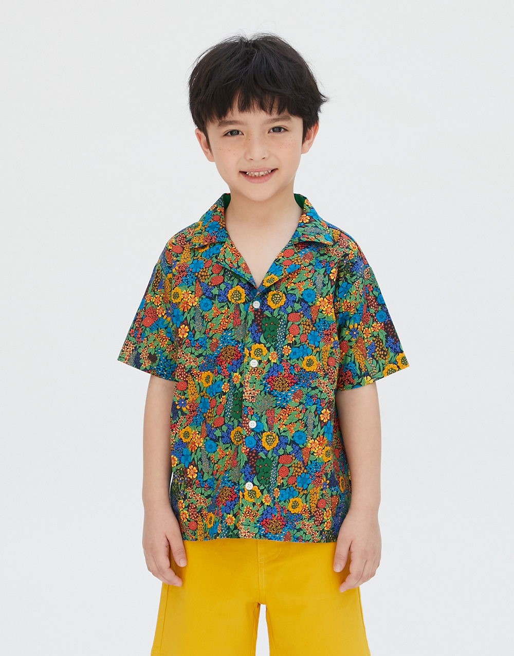 GBH APPAREL KIDS   FLOWER SHIRT
