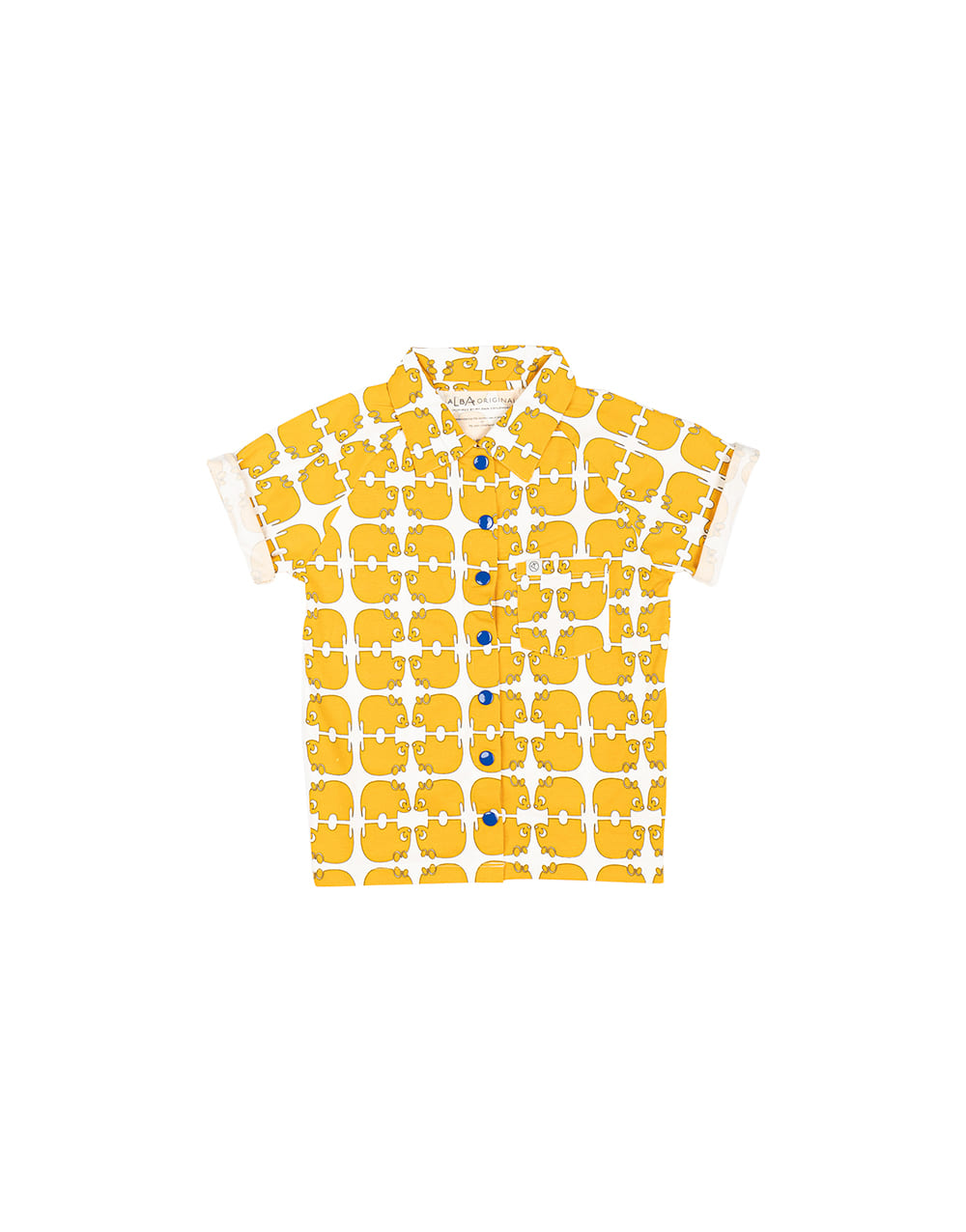 ALBA ORIGINAL   CHRIS SHIRT   Bright Gold Wanna be