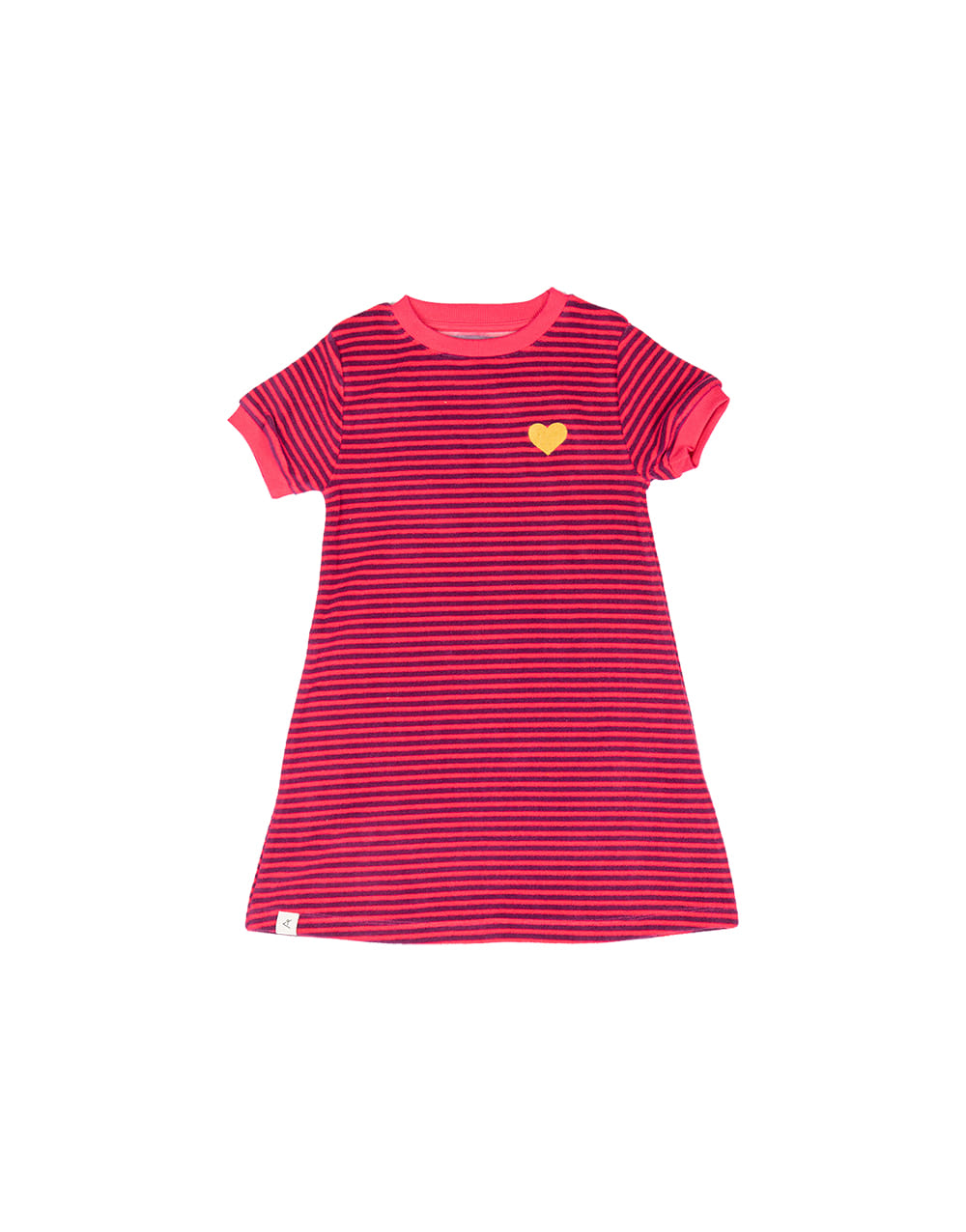 ALBA ORIGINAL VIDA DRESS   Raspberry Magic Strip