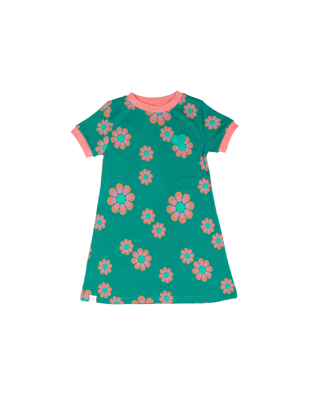 ALBA ORIGINAL VIDA DRESS   Alpine Green Flower