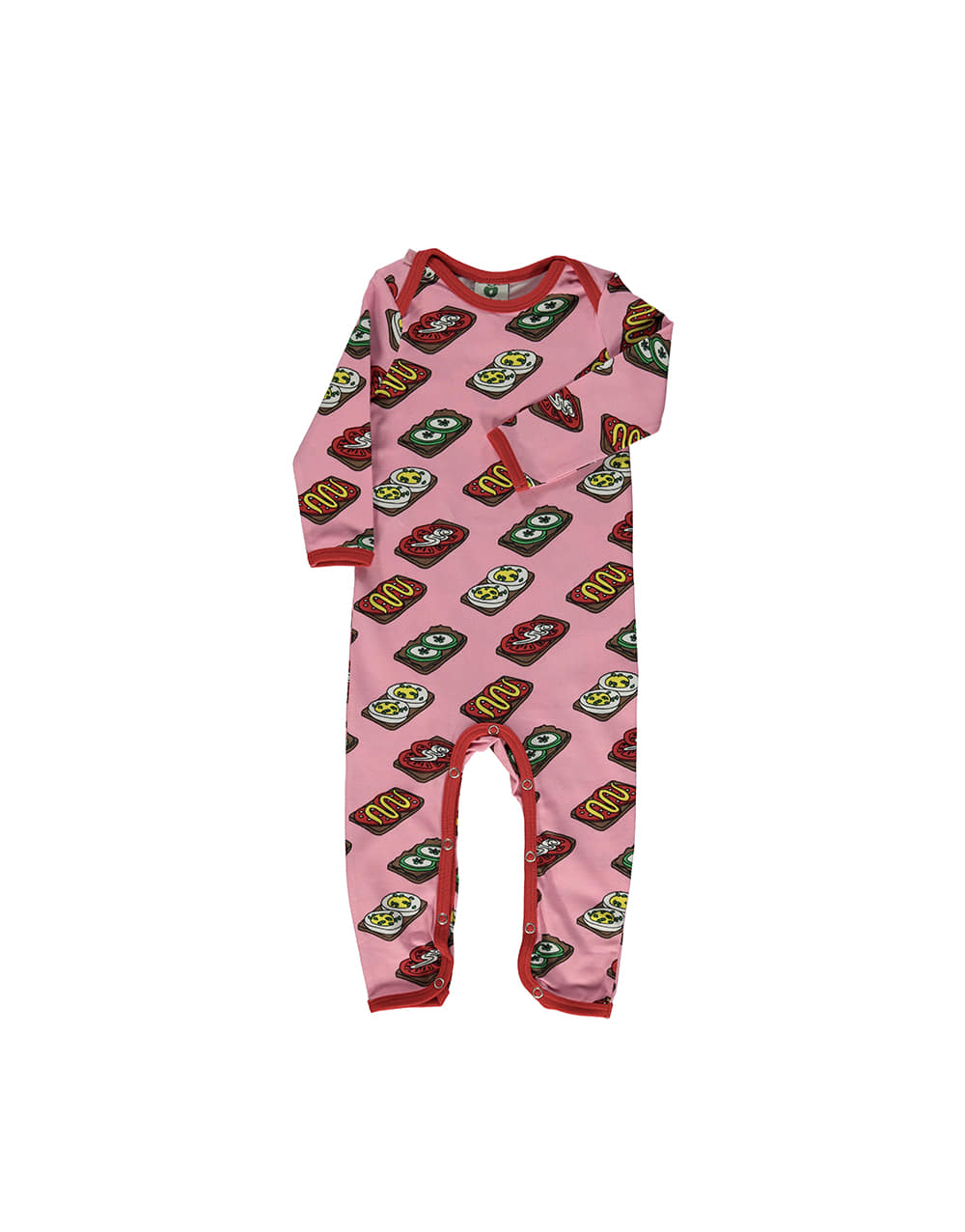 SMAFOLK  Suit with Food Sea pink