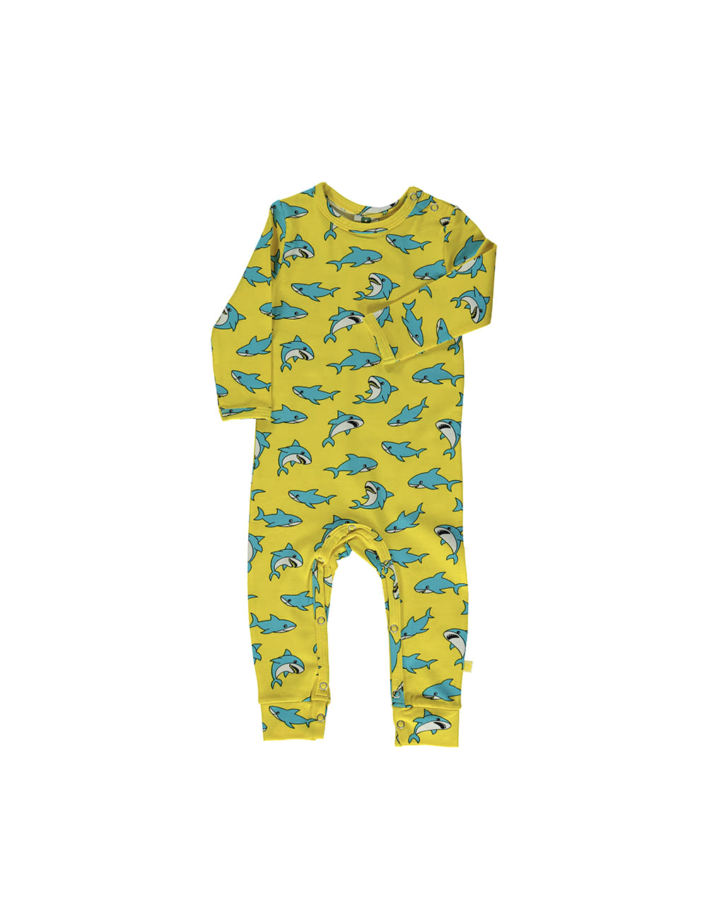 SMAFOLK  Suit with Shark  Yellow