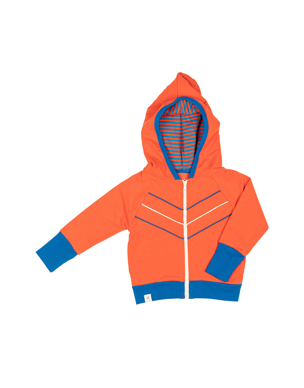 ALBA ORIGINAL    Adam Zipper Hood   Orange