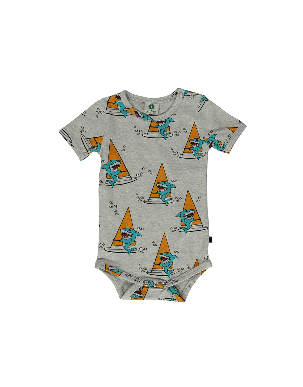 SMAFOLK  Summer Body with Surf Shark  Lt. Grey Mix
