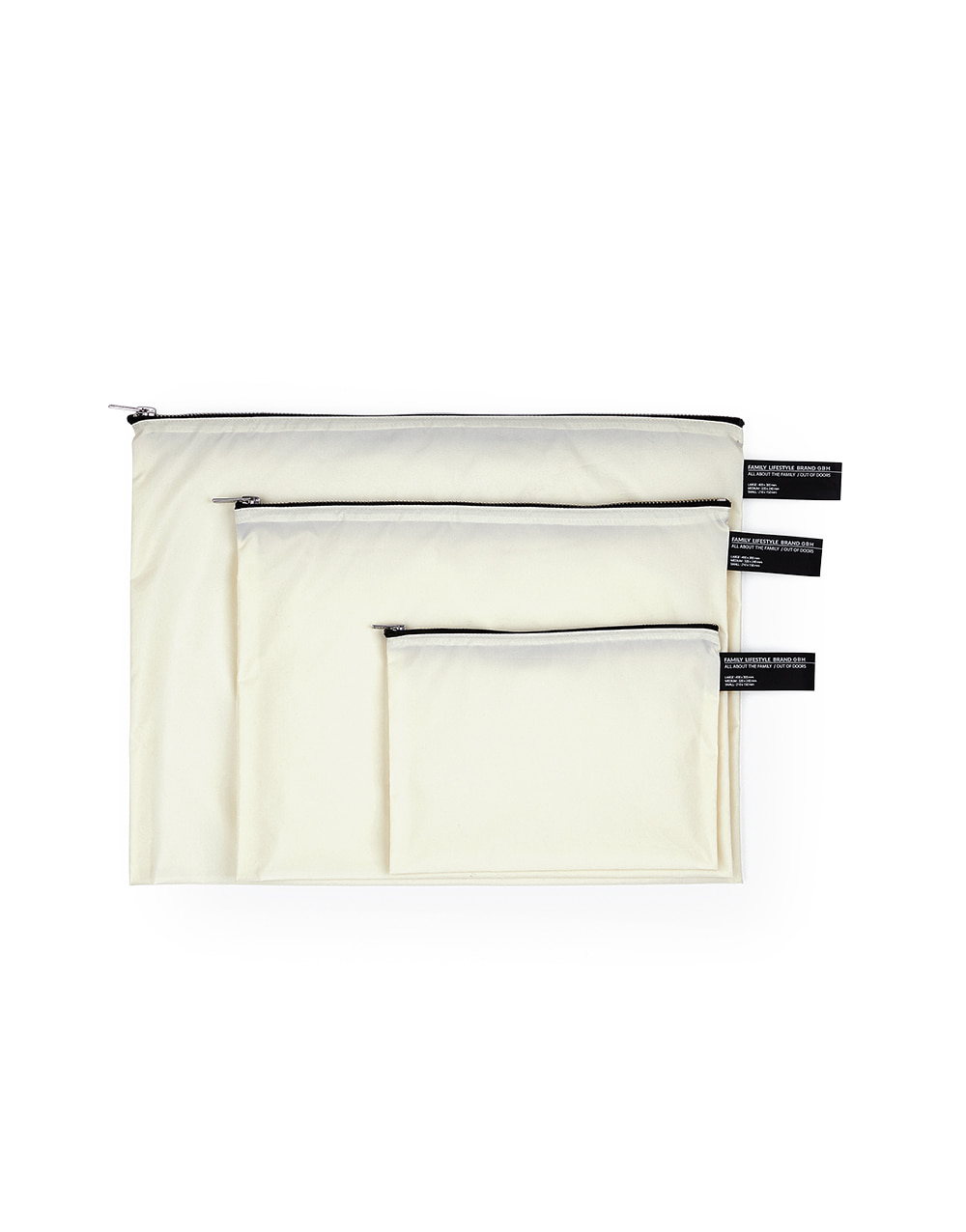 GBH HOME  Waterproof Pouch WHITE (3 SIZE)