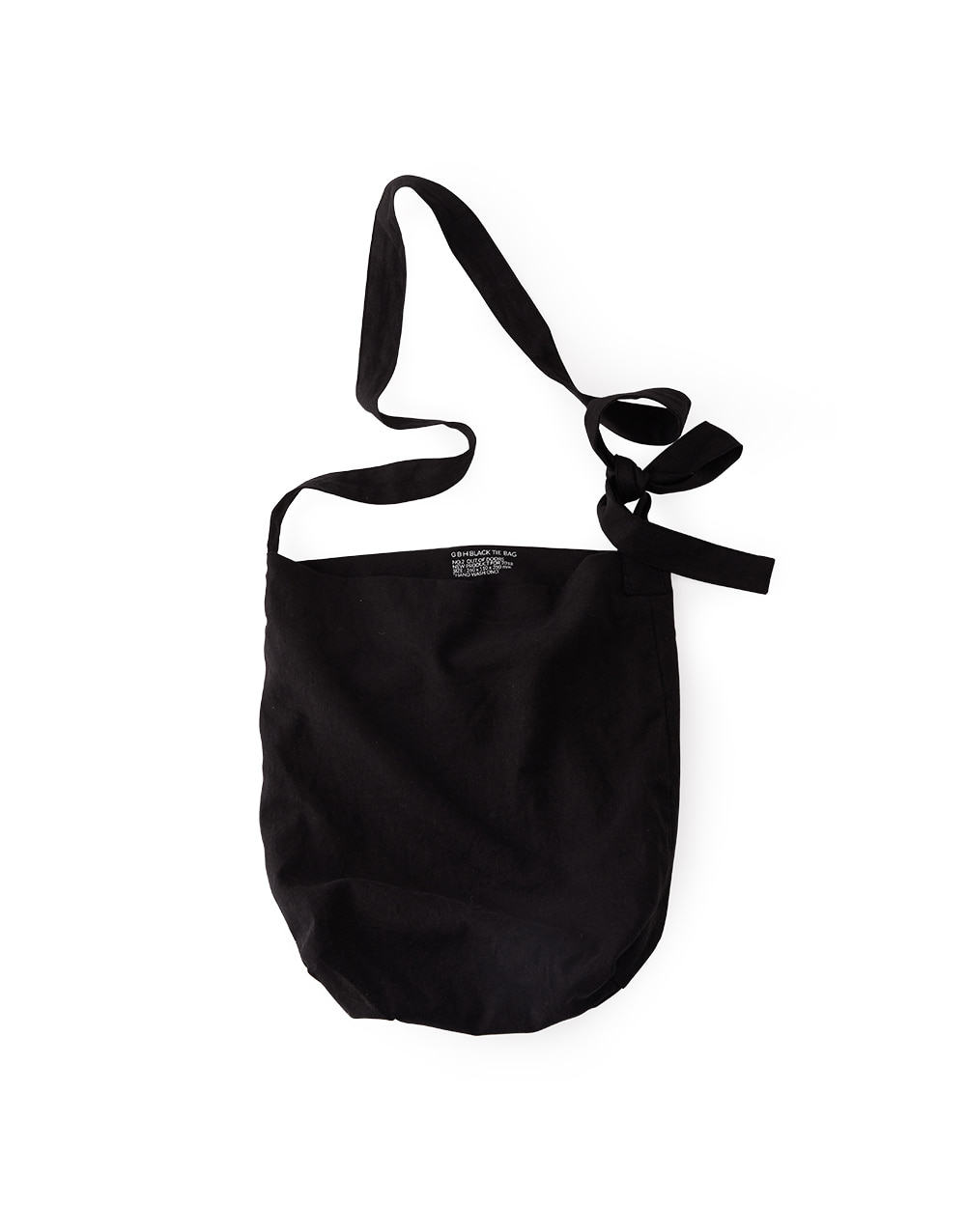 GBH HOME BLACK TIE BAG LARGE