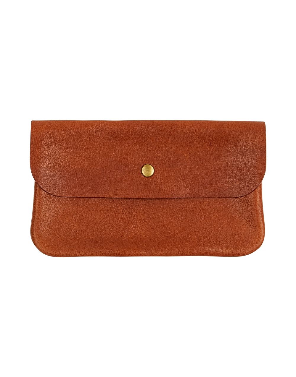 DURAM FACTORY FLAP POUCH (L) BROWN