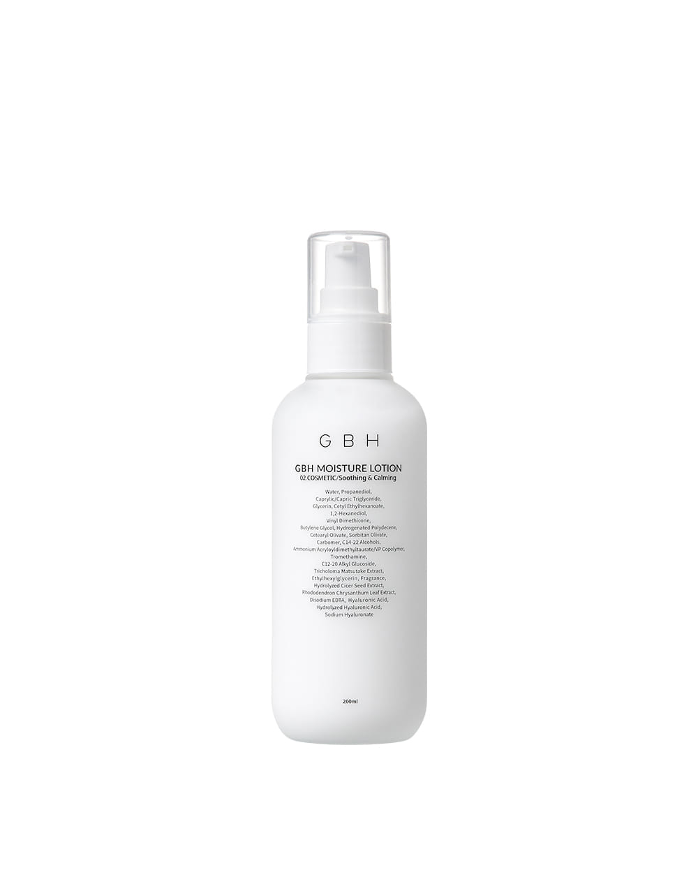 GBH COSMETIC MOISTURE LOTION